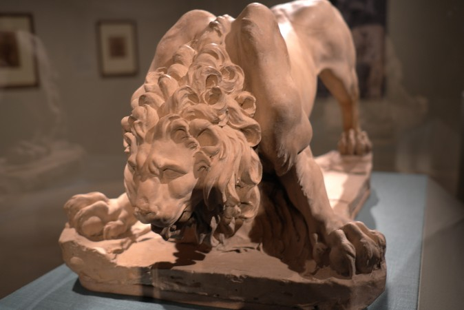 Star of the show, this lion was only recently attributed to Bernini