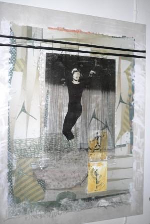 Portrait of Eshkol by Margalit Zonenfeld