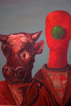 Look, early George Condo, looks kinda good in this context.
