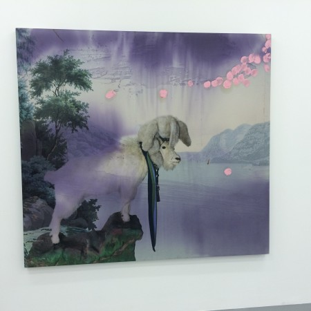 Julian's goat painting