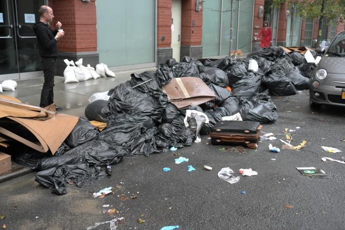 22nd Street devastation. I wonder when they will open again?