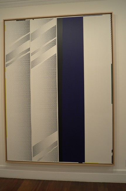 A beautiful large Lichtenstein mirror.