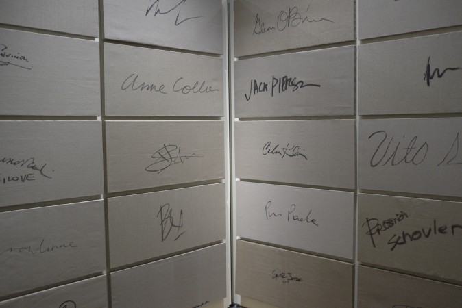 All celebrity signatures with some artists etc.