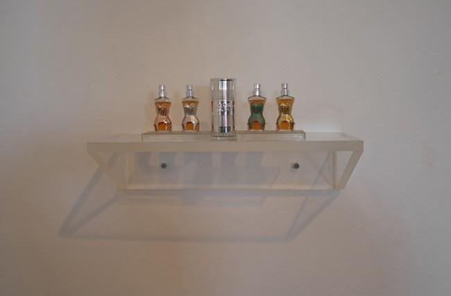 Cool mini-shelf of mini-perfumes