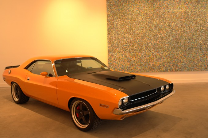 Here's the Charger… remember it from Frieze?