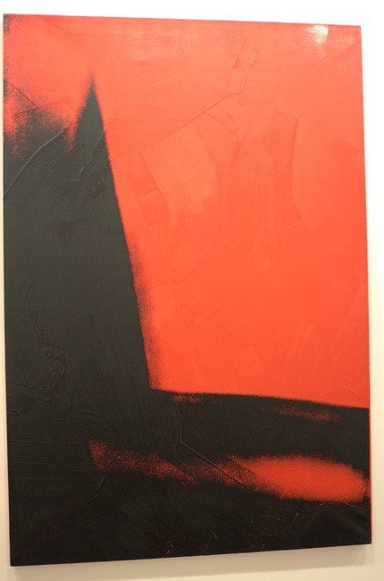 This is the beautiful red one, very conceptual, too.