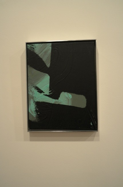 A small shadow, is it figuration or abstraction? Of course it's figurative abstraction! Come on, everybody knows that!