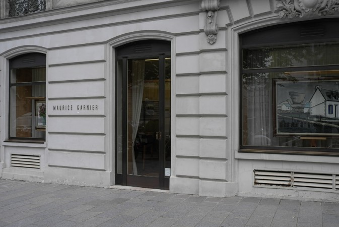 The Gallery of Maurice Garnier here in Paris, he's represented Bernard Buffet for over 50 years!