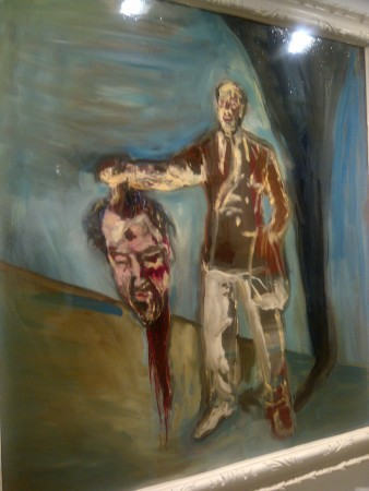 Julian Schnabel takes one from Caravaggio