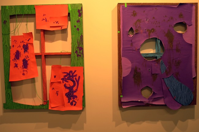 This is pretty ugly stuff, Aaron Curry at Werner, funny, I kinda like it!