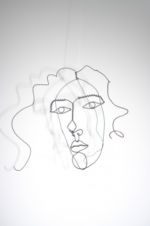 Here's Sandy's Grandmother, Alexander Calder's wife Louisa, isn't it beautiful? It moves - look how life like it is.