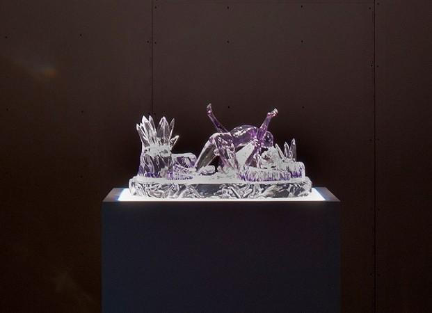 Jeff Koons <em>Violet-Ice (Kama Sutra)</em>