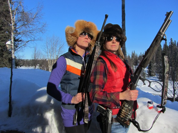 Back at the lodge I found Annie and Bret, some nice Alaskan girls to take care of me. Bret runs things with an iron fist…don't F with her.