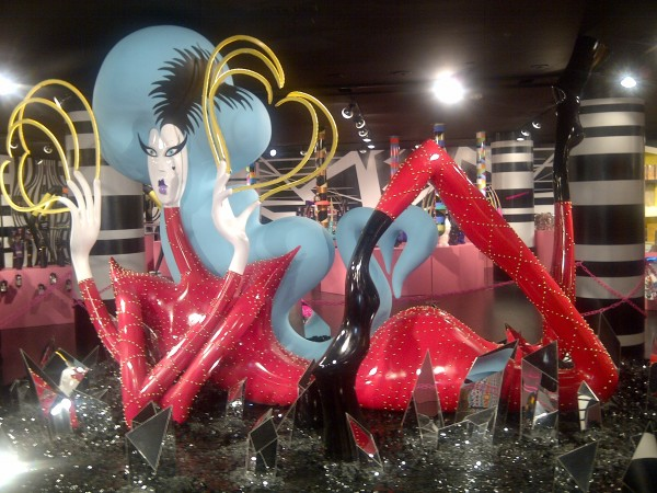 Eli Sudbrack,  aka Assume Vivid Astro Focus, sculpture of Lady Gaga… Kenny Scharf, I miss you