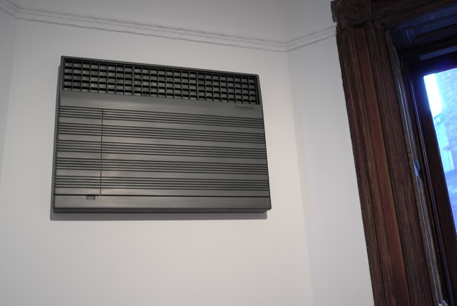 The air conditioner, which has already become a classic