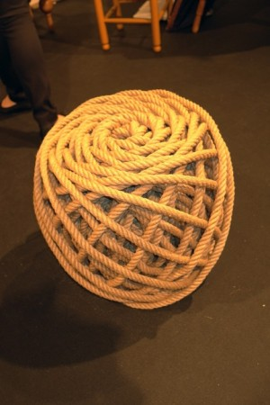 Nice Dutch rope table, new, not expensive.