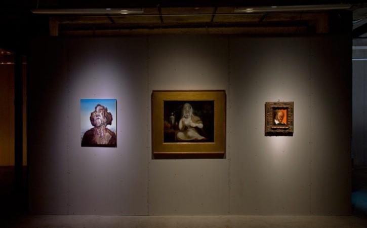 Glenn Brown <em>Little Death</em>, Henry Fuseli <em>Fairy Mab</em>, George Condo <em>Des Esseintes Contemplating Artifice</em>