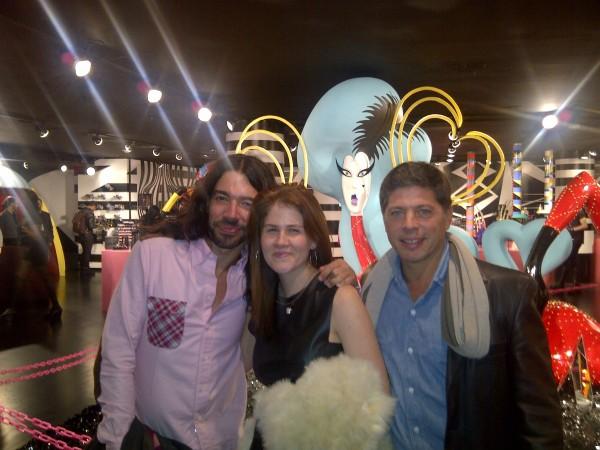 Assume Vivid Astro Focus, Cary Leitzes, Lady Gaga (sculpture), and me