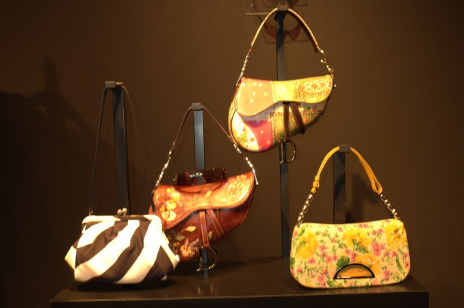 Look at her handbags