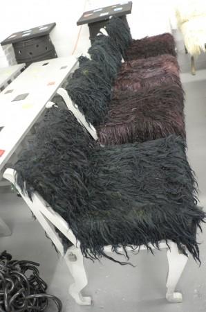 Ricky Clifton chairs, kinda rockstar decadent