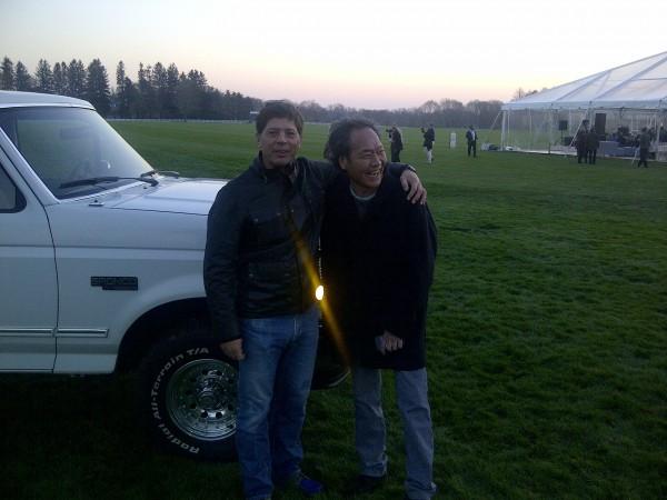 Me with OJ's Bronco