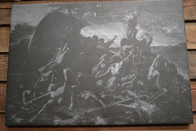 <em>The Raft of the Medusa</em> in low quality
