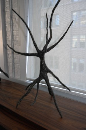 Calder did ugly really well, too. I like this bronze.