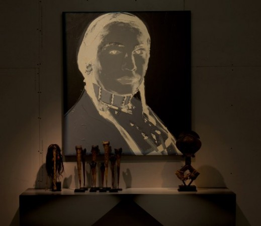 Andy Warhol <em>An American Indian (Russell Means)</em>