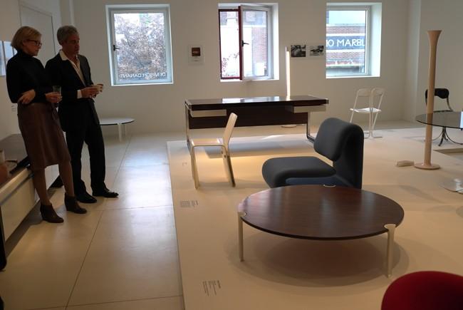 Suzanne Demisch et Dennis Freedman presentent les meubles français de l'epoque des Cools!