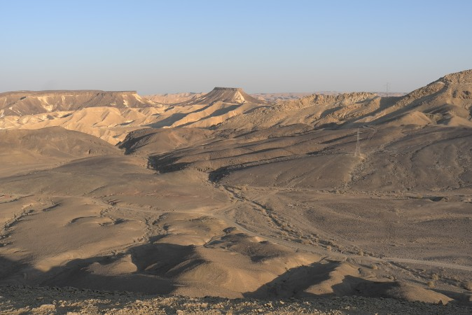 What a view, the Ramon crater, it's beautiful