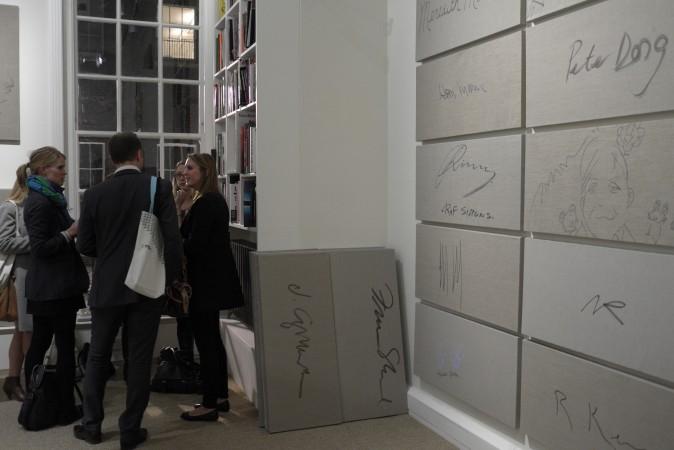 Rob Pruitt signatures at Luxembourg & Dayan