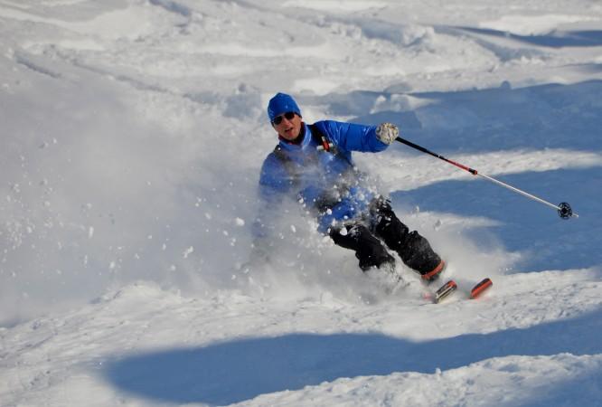 Hohoho... fun in the snow.