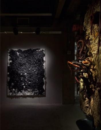 Dan Colen <em>To be titled</em>, Piotr Uklanski <em>Untitled</em>