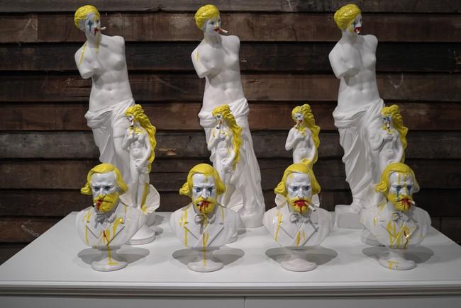Bruce High Quality Foundation defaces Venus and Verdi