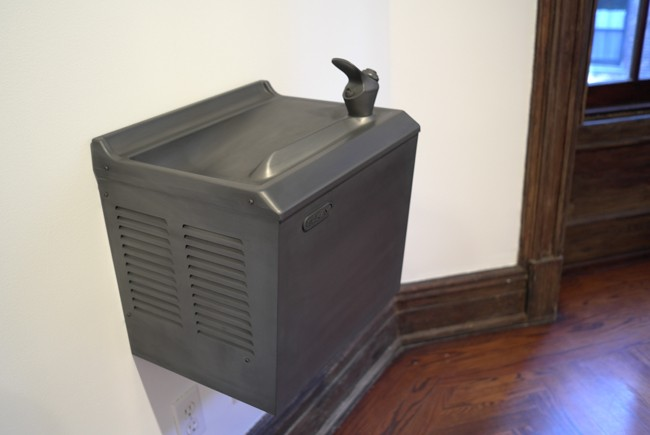 Carbon water fountain