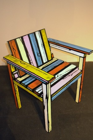 Richard Woods makes a cool chair!