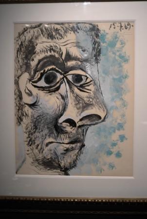 Picasso <em>Tête d'homme</em>… huge schnoz
