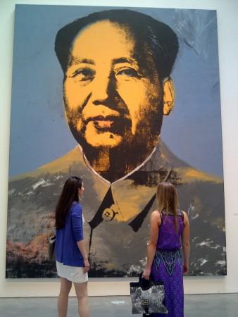 Big Mao, now at the Met