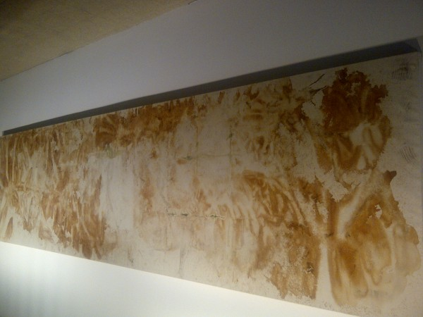 Warhol pee painting ... I like 'em -  Andy once said he only did them so he could watch guys pee