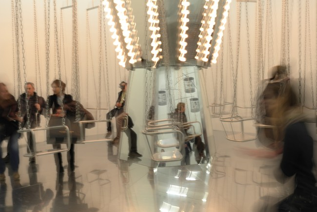Turn the New Museum into an amusement park? Double the admission and give me two Tylenol.