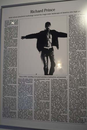 One of McEwen's best, a Richard Prince obituary… we last saw it at the the Whitney Biennial