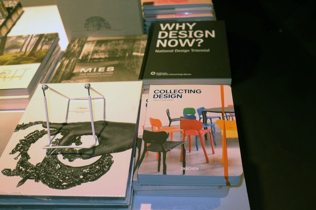 Hey, there's my design book for sale, now you know this year's design fair was better than ever.