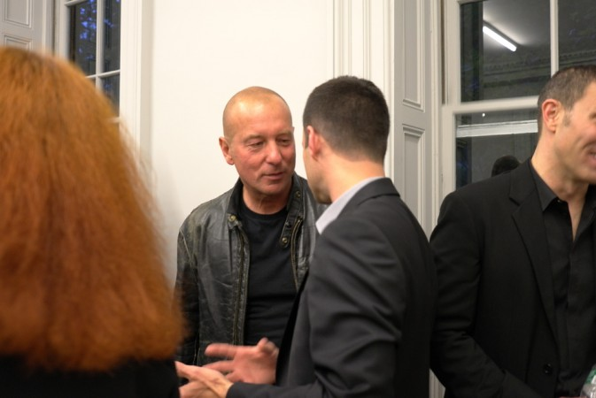 There's the artist (ex fashion god) Helmut Lang