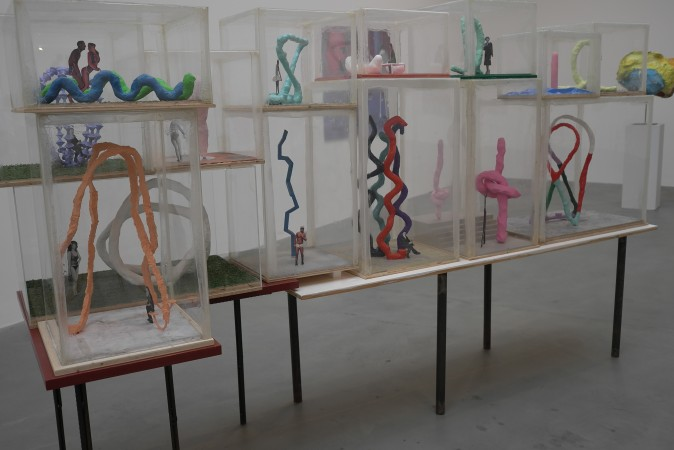 Table of maquettes