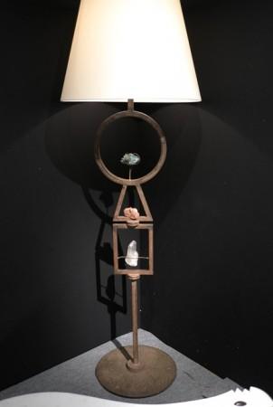 Du Plantier lamp, super cool. $185k at Primavera Gallery… and that dude don't bargain.