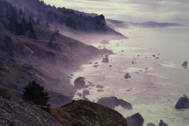 Trippy photographer… is that Big Sur?