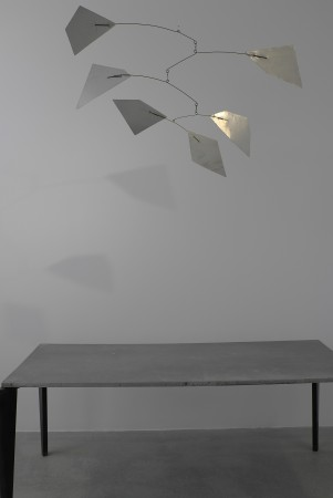 Prouve table and unpainted mobile