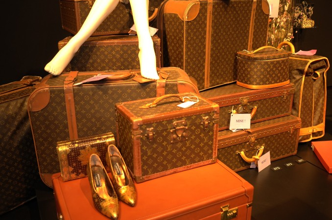 No dearth of Louis Vuitton trunks