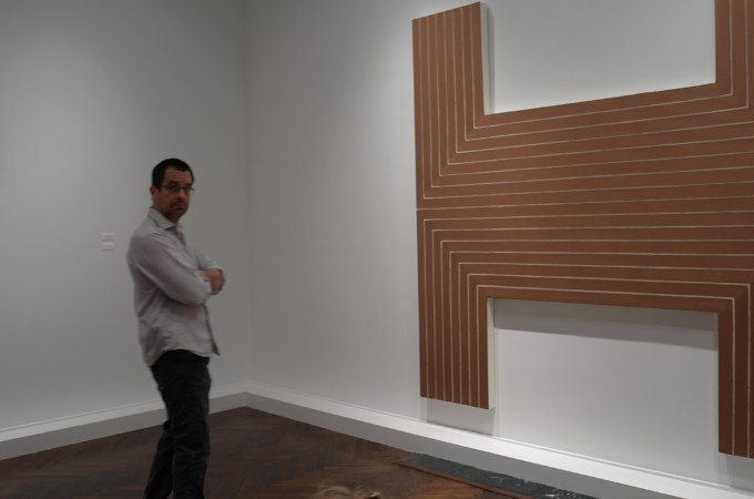 Frank Stella in the early 60's was Da Man! Go see this show… anyone can see why!!!!