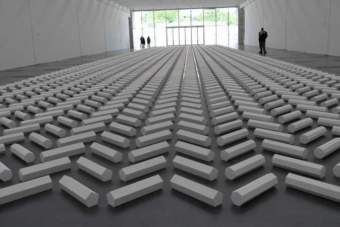 Walter De Maria's monumental piece gets a peek too… LA's  so much fun, see you again real soon…